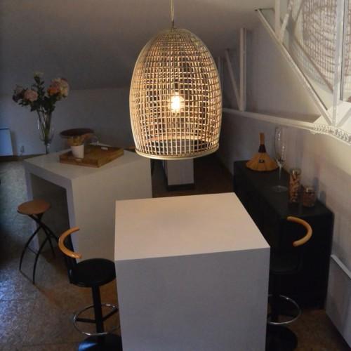 luminaire en rotin naturel brin d 39 ombre sp cialiste. Black Bedroom Furniture Sets. Home Design Ideas