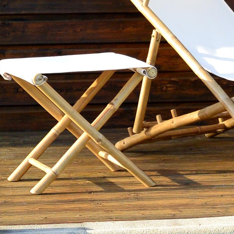 tabouret bambou ecru brin d 39 ombre sp cialiste parasols. Black Bedroom Furniture Sets. Home Design Ideas