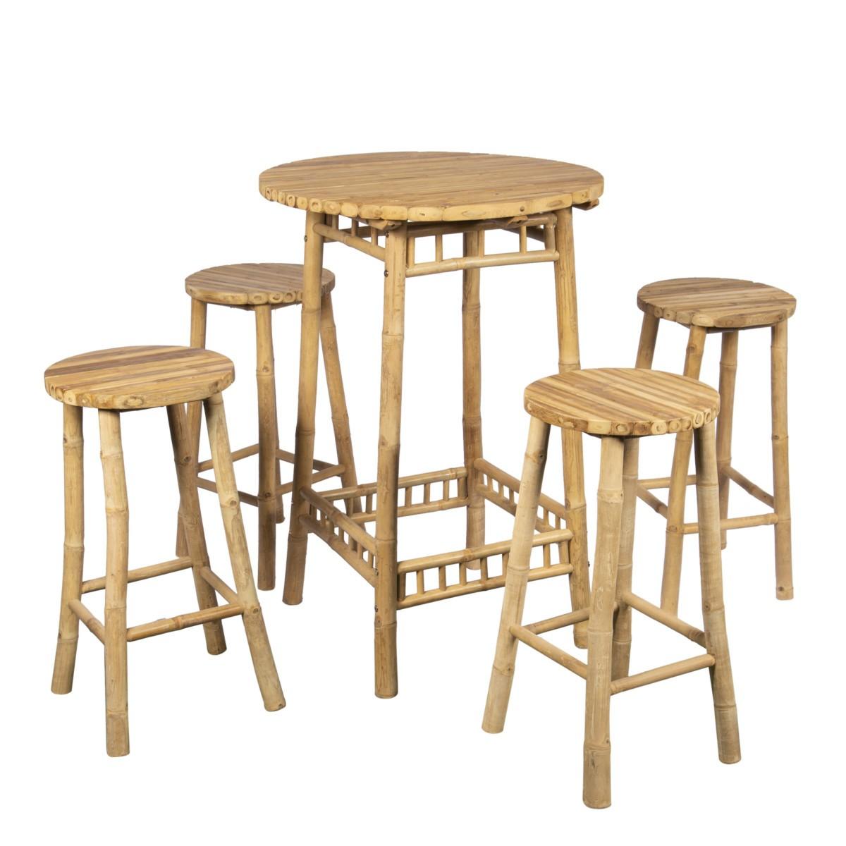 table mange debout 4 personnes