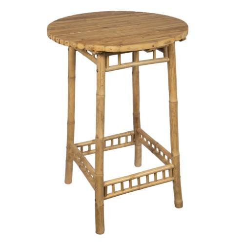 table mange debout bambou