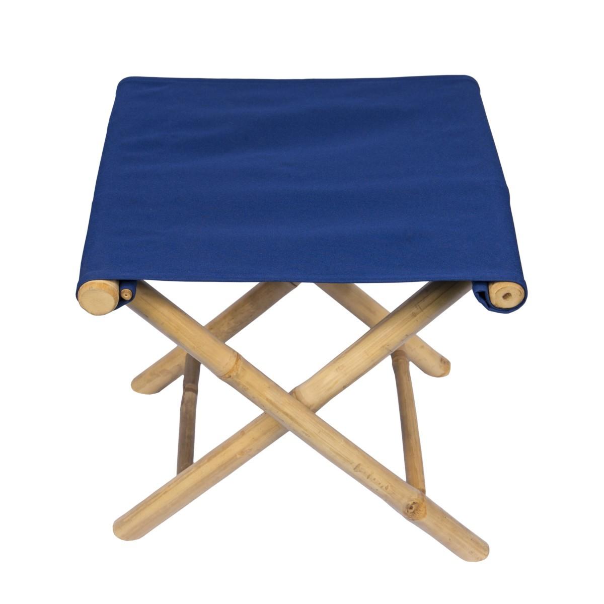 tabouret bambou bleu brin d 39 ombre sp cialiste parasols. Black Bedroom Furniture Sets. Home Design Ideas