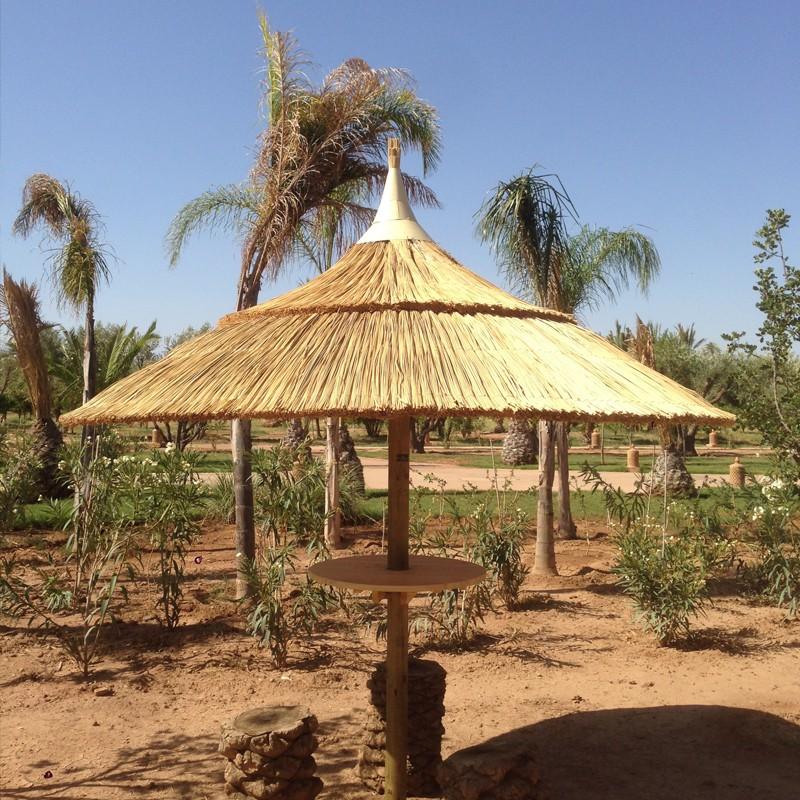 parasol naturel brin d 39 ombre sp cialiste parasols. Black Bedroom Furniture Sets. Home Design Ideas